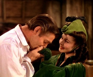 clark gable, Gone with the Wind, and vivien leigh image