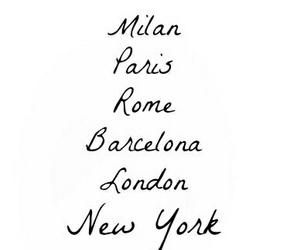 rome, Barcelona, and london image