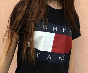 fashion, tommy hilfiger, and girl image