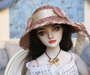 art, delicate, and doll art image
