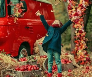 photography, autumn, and children image