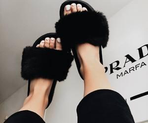 Prada, shoes, and slides image