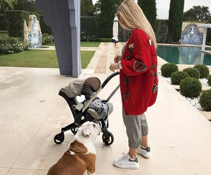 baby, milf, and dog image