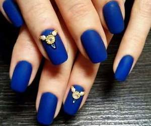 azul, blue, and girl image