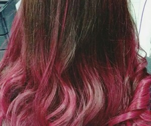 color, pink hair, and curls image