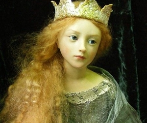 art, crown, and enchanted image