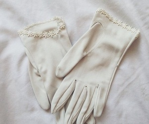 gloves, white, and aesthetic image