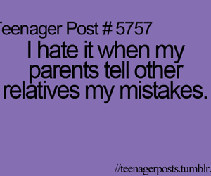 mistakes, teenager post, and parents image
