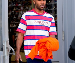 frank ocean, guess, and blond image