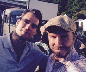 David Beckham, handsome, and Henry Cavill image