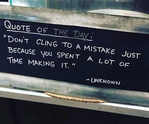 quotes and mistakes image