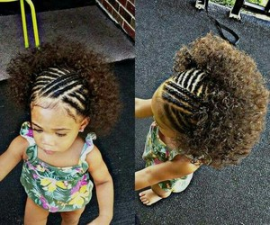 adorable, Afro, and cutie image