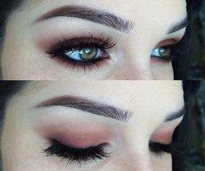 eyebrow, girl, and beauty image