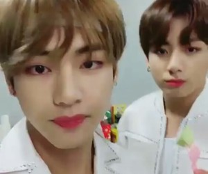 jungkook, v, and bts image