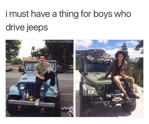 Hot, riverdale, and jeeps image