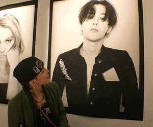 g-dragon, girl, and ulzzang image