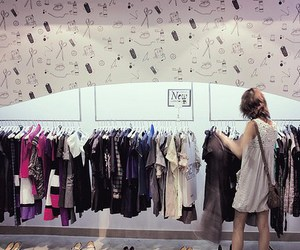 clothes and shop image