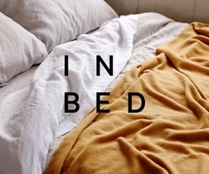bed, yellow, and blissingskies image
