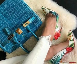 bag, christian louboutin, and fashion image