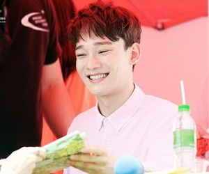 Chen, handsome, and smile image