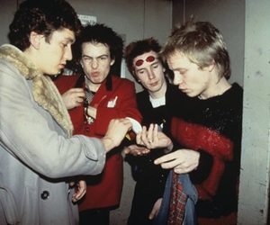 sex pistols, sid vicious, and anarchy image