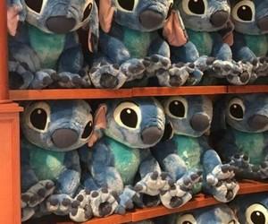 blue, disney, and stitch image