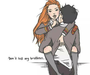 harry potter, gina weasley, and love image