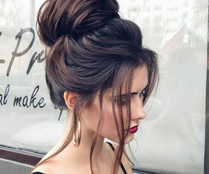 beauty, girl, and hair image