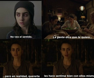 quote, lily collins, and to the bone image