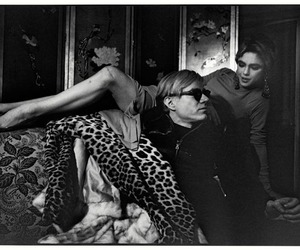 andy warhol, black and white, and edie sedgwick image