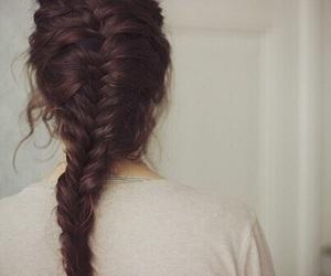 braids, hair, and vintage image