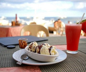 ice cream, food, and drink image