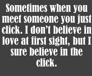click and love at first sight image