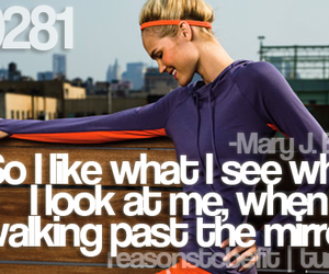 quote, mary j blige, and fitspo image
