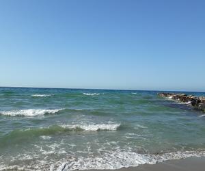 beach, calm, and dz image