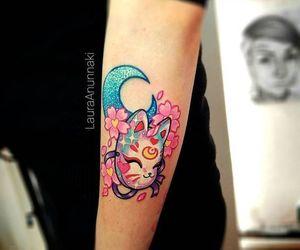 kawaii tattoo and japanese tattoo image