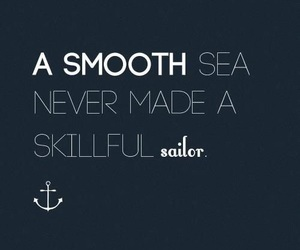 quotes, sailor, and sea image