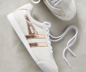 sneakers, trainers, and white image