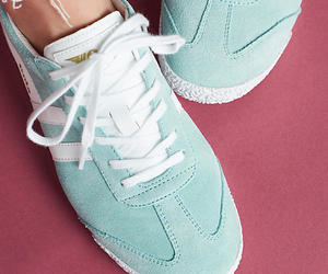 blue, fashion, and sneakers image