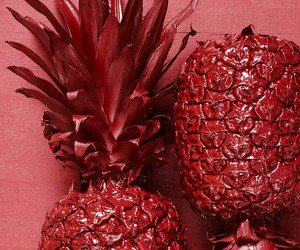 red and pineapples image