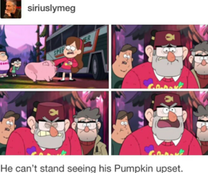 tumblr post, stanley pines, and gravity falls image