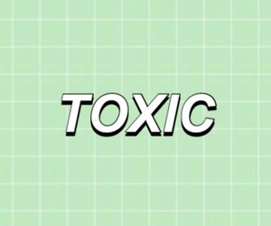 green, grid, and toxic image