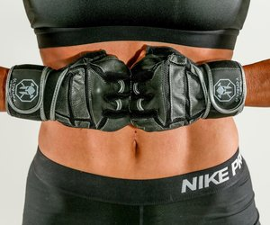 7mm neoprene knee sleeves, rogue wrist wraps, and best weight lifting belt image