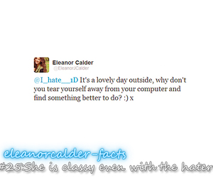facts, eleanor calder, and one direction image