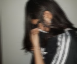 adidas, black, and blur image