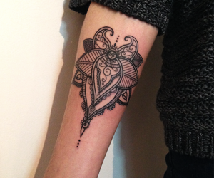 beautiful tattoo, black tattoo, and new collection image