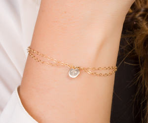 silver, personalized jewelry, and personalized gift image