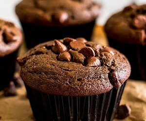chocolate, muffins, and sour cream image