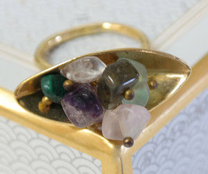 cocktail ring, etsy, and amethyst ring image