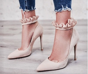 elegant, high heels, and shoes image